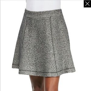 NWT Nanette Lepore Tweed Exploration Skirt Size 8